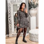 Lofty Manner Skirt Ivana pink black