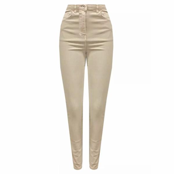 Cotton Stretch pants light khaki