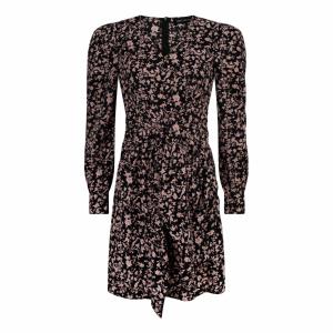 Lofty Manner Dress Channah black pink