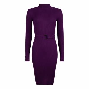 Lofty Manner Dress Yelena purple
